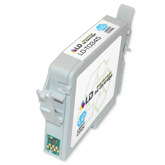 Remanufactured Light Cyan Ink for Epson T034520