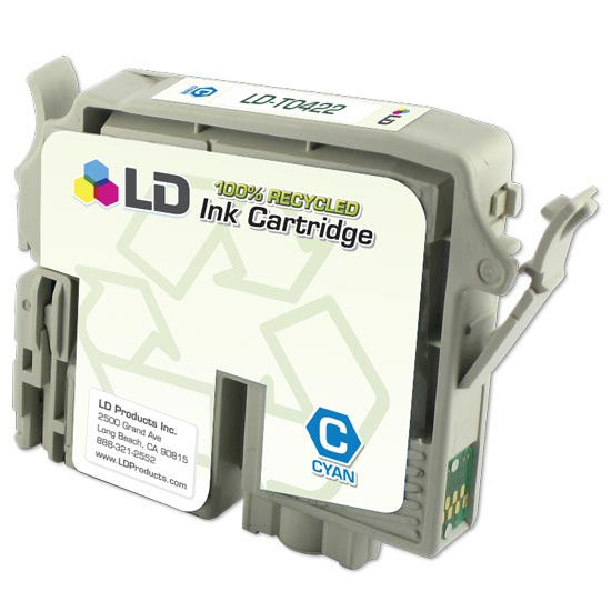 Remanufactured Cyan Ink for Epson T042220