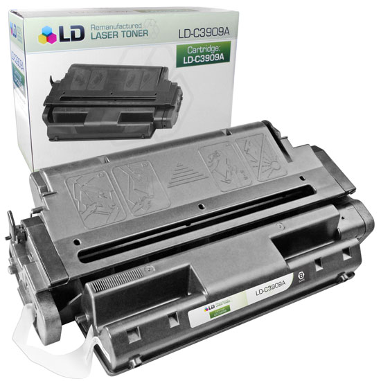 Remanufactured Toner Cartridge for HP 09A Black, 15,000* Page Yield (C3909A)