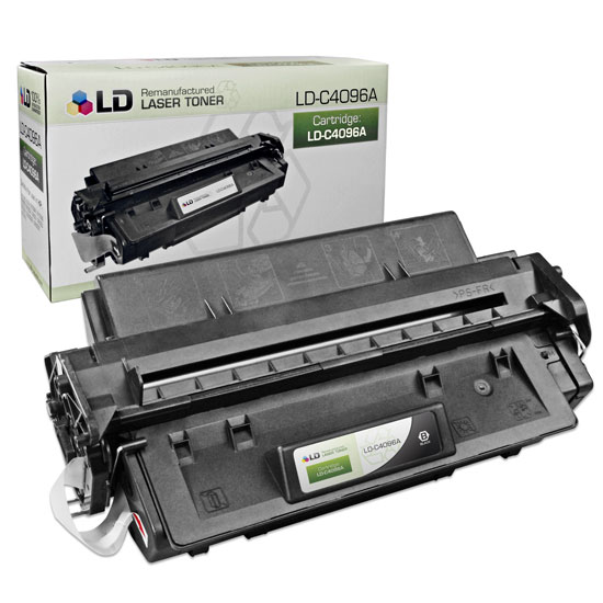 Remanufactured Toner Cartridge for HP 96A Black, 5,000* Page Yield (C4096A)