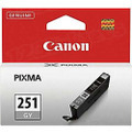 Canon CLI-251GY Gray OEM Ink Cartridge