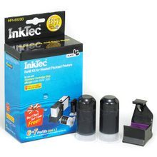 Inkjet Refill Kit for Hewlett Packard (HP) for CD9710AN (HP 920) Pigment Black Ink Cartridges for the OfficeJet 6500, 6000, 7000