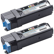 Original 899WG Dual Black Toner (84R1W) for Dell 2150cdn, 6,000 Page Yield
