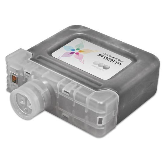 Canon Compatible PFI-302PGY Photo Gray Ink