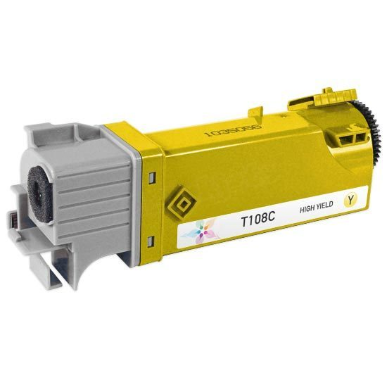 Compatible Alternative for T108C HY Yellow Toner for the Dell 2130cn & 2135cn