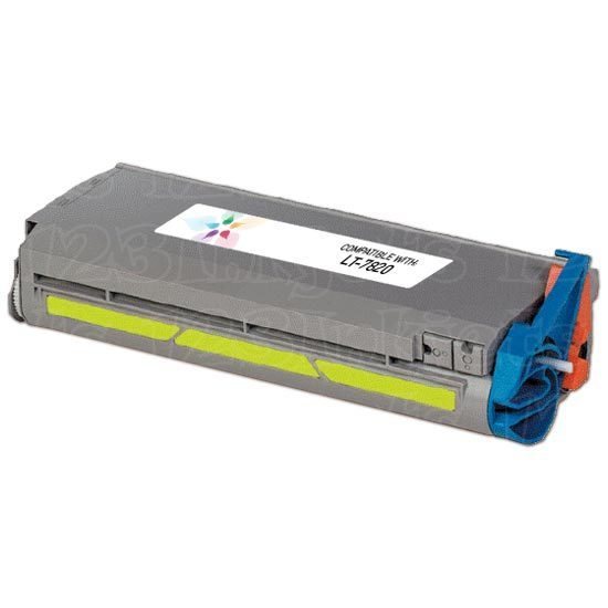 Remanufactured Konica-Minolta 960-871 Yellow Toner
