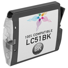 Compatible Brother LC51Bk Black Ink Cartridges