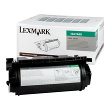 Lexmark OEM Extra High Yield Black Return Program Laser Toner Cartridge, 12A7469 (32K Page Yield)