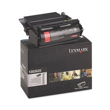 Lexmark OEM High Yield Black Laser Toner Cartridge, 1382625 (17.6K Page Yield)