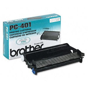 OEM Brother PC401 Black Toner Cartridge
