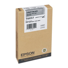 Original Epson T603700 Light Black 220 ml Inkjet Cartridge (T6037)