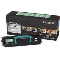 Lexmark OEM Black Return Program Laser Toner Cartridge, E450A11A (E450 Series) (6K Page Yield)