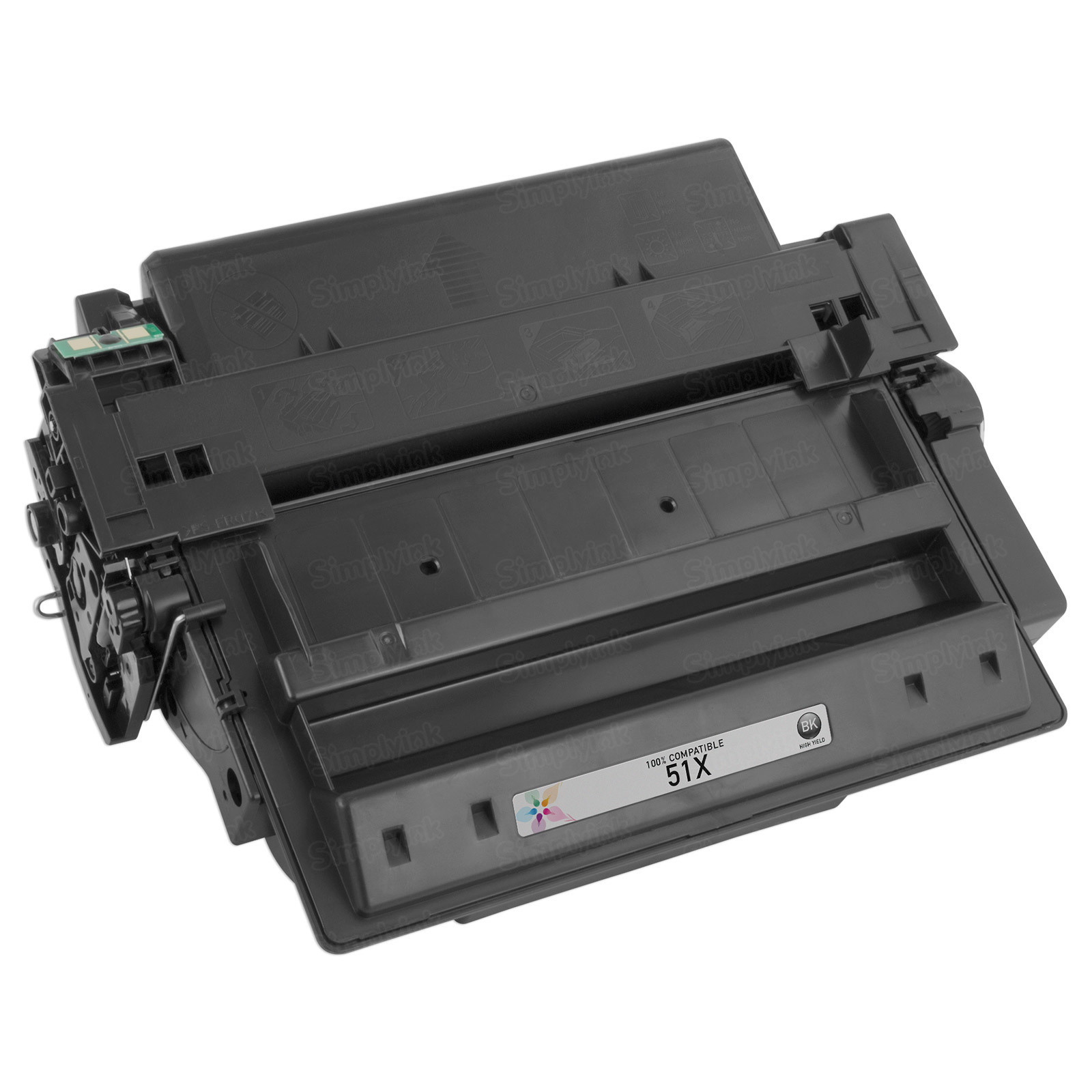 Replacement HY Black Toner for HP 51X