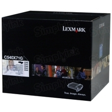 Lexmark OEM Drum Unit, C540X71G (30K Page Yield)