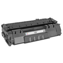 Replacement for HP 53A Black Laser Toner (Q7553A)
