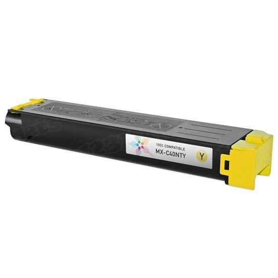 Compatible Sharp MX-C40NTY Yellow Toner