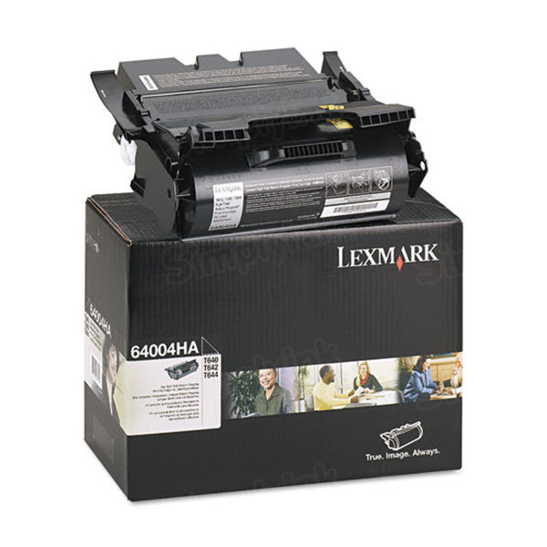 Lexmark Original HY Black Toner, 64004HA