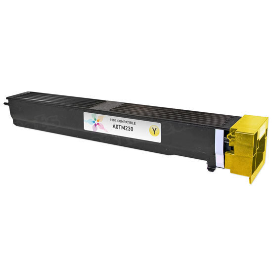 Compatible Konica Minolta TN613Y Yellow Toner
