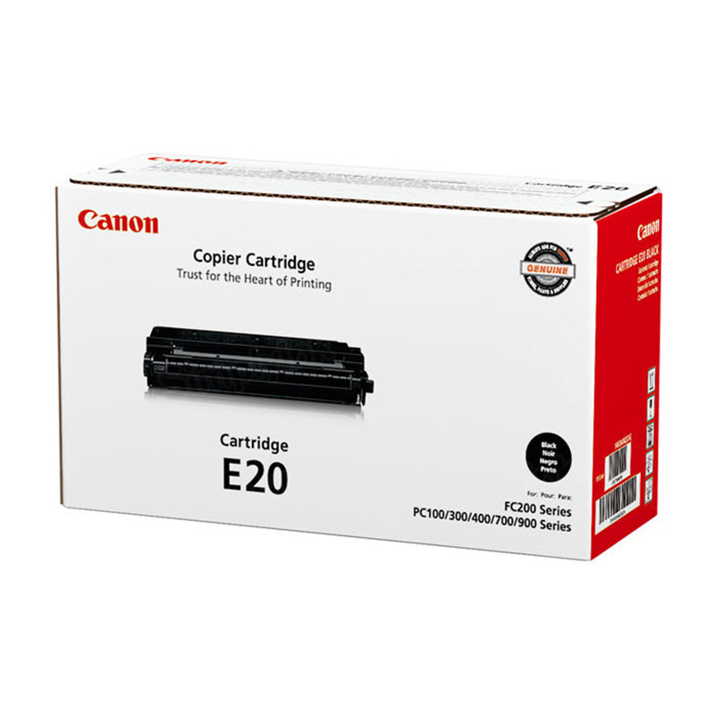 Canon E20 Black Toner Cartridge, OEM