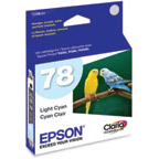 Epson 78 Light Cyan OEM Ink Cartridge (T078520)