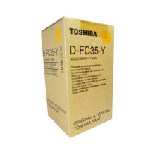 Toshiba OEM 6LE20185000 / D-FC35-Y Yellow Developer