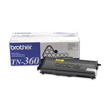 OEM Brother TN360 High Yield Black Laser Toner Cartridge
