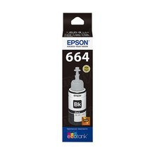 OEM Epson T664120 (664) DURABrite Ultra Black Ink Bottle