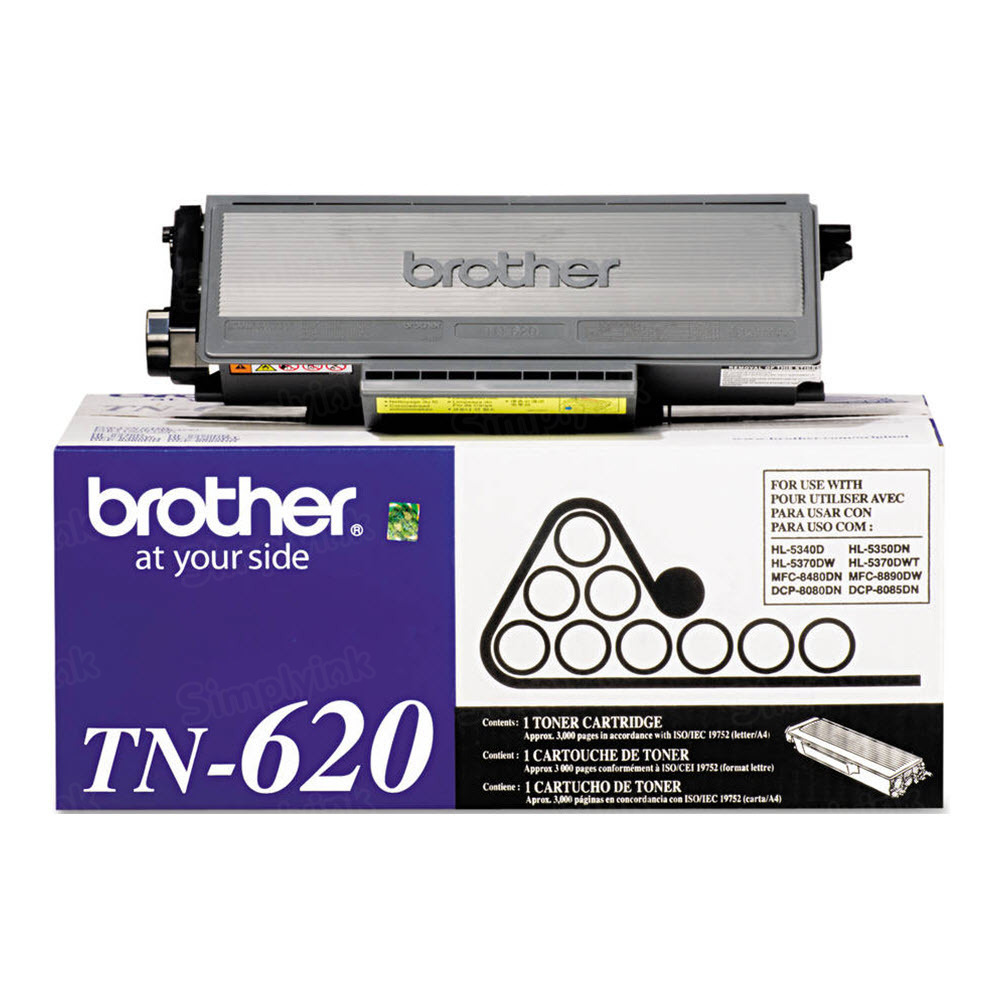 OEM Brother TN620 Black Toner Cartridge