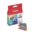 Canon BCI-15BK Black OEM Ink Cartridge 2PK