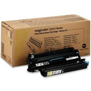 OEM Konica-Minolta 1710532-002 Yellow Toner Cartridge