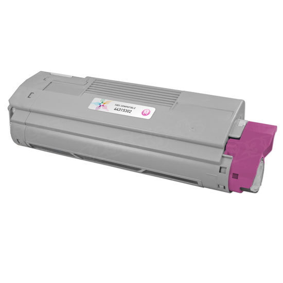 Compatible 44315302 Magenta Toner for Okidata