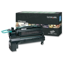 Lexmark OEM Black Return Program Laser Toner Cartridge, C792A1KG (C792/X792 Series) (6K Page Yield)