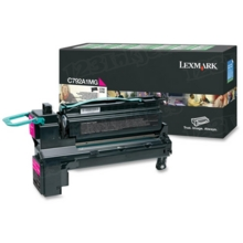 Lexmark OEM Magenta Return Program Laser Toner Cartridge, C792A1MG (C792/X792 Series) (6K Page Yield)