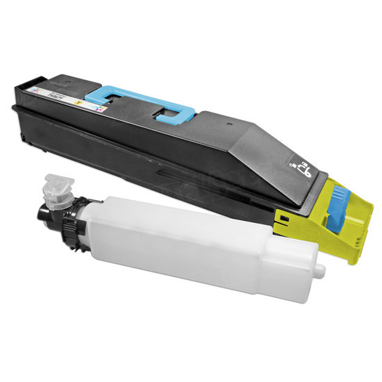Kyocera Mita Compatible TK867Y Yellow Toner Cartridge