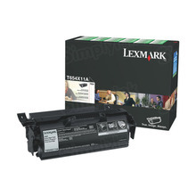 Lexmark OEM Extra High Yield Black Return Program Laser Toner Cartridge, T654X11A (36K Page Yield)