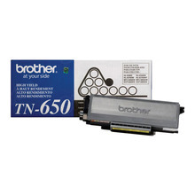 OEM Brother TN650 High Yield Black Laser Toner Cartridge