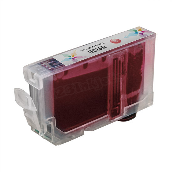 Canon Compatible BCI6R Red Ink for i9900 & Pixma iP8500