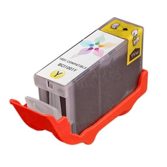 Canon Compatible BCI-1001Y Yellow Ink for BJ W3000 & W3050