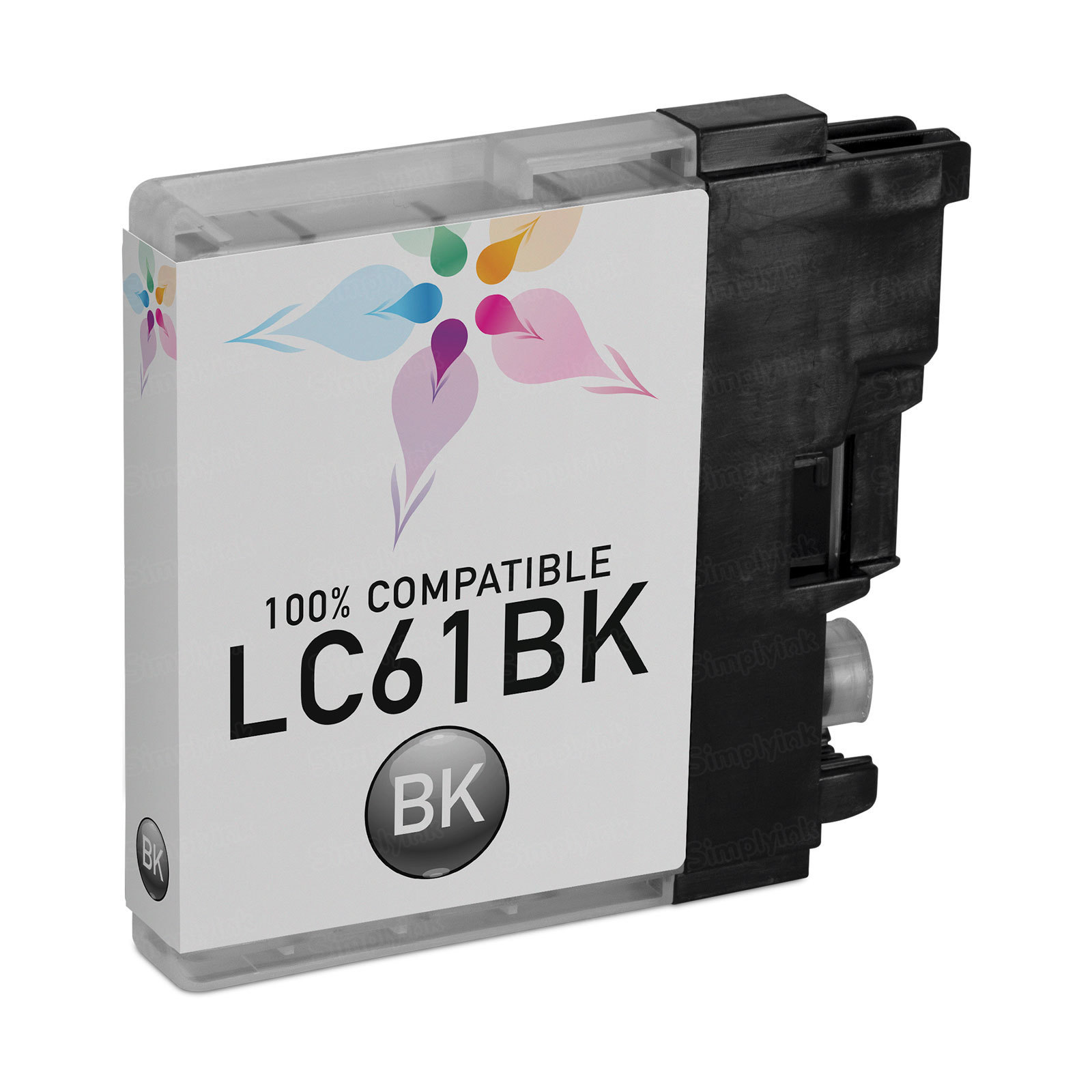 Brother Compatible LC61Bk Black Ink