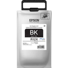 OEM Epson TR12X120 (R12X) DURABrite Ultra High Yield Black Ink Pack