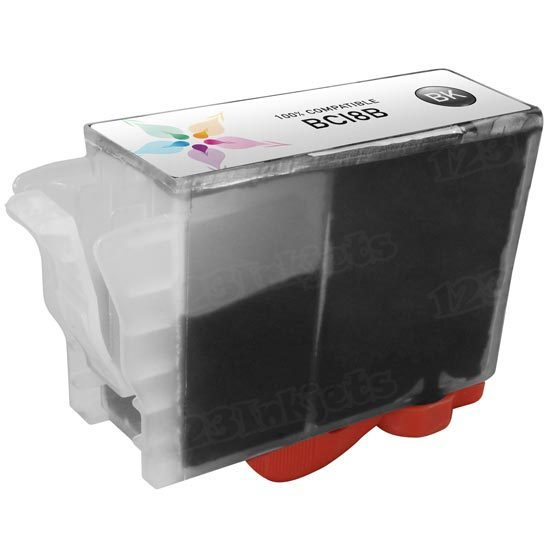 Canon Compatible BCI8Bk Black Ink for BJC-8500