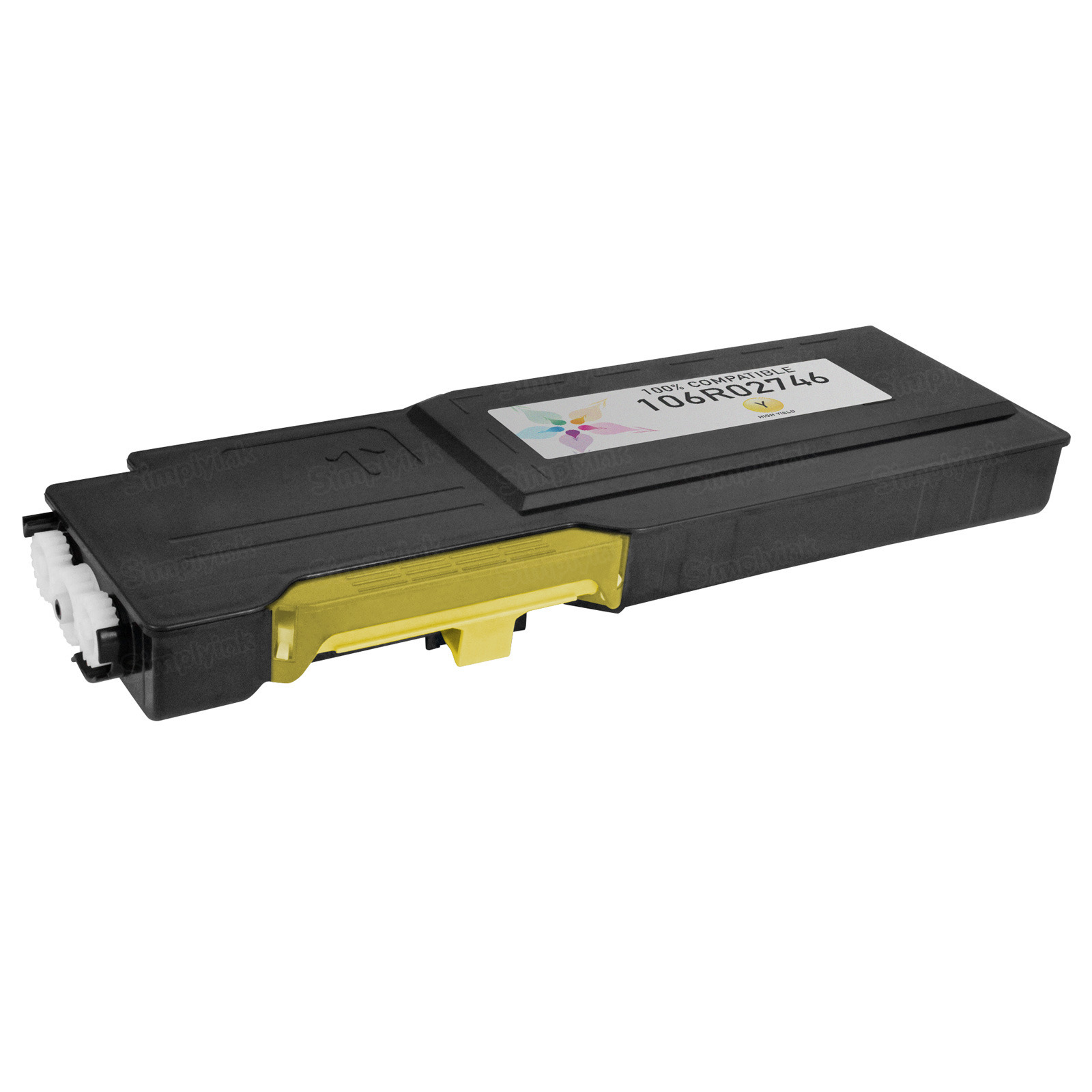 Compatible (106R02746) Xerox HC Yellow Toner Cartridge