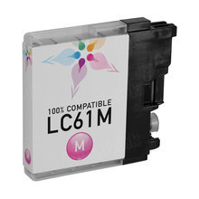 Compatible Brother LC61M Magenta Ink Cartridges