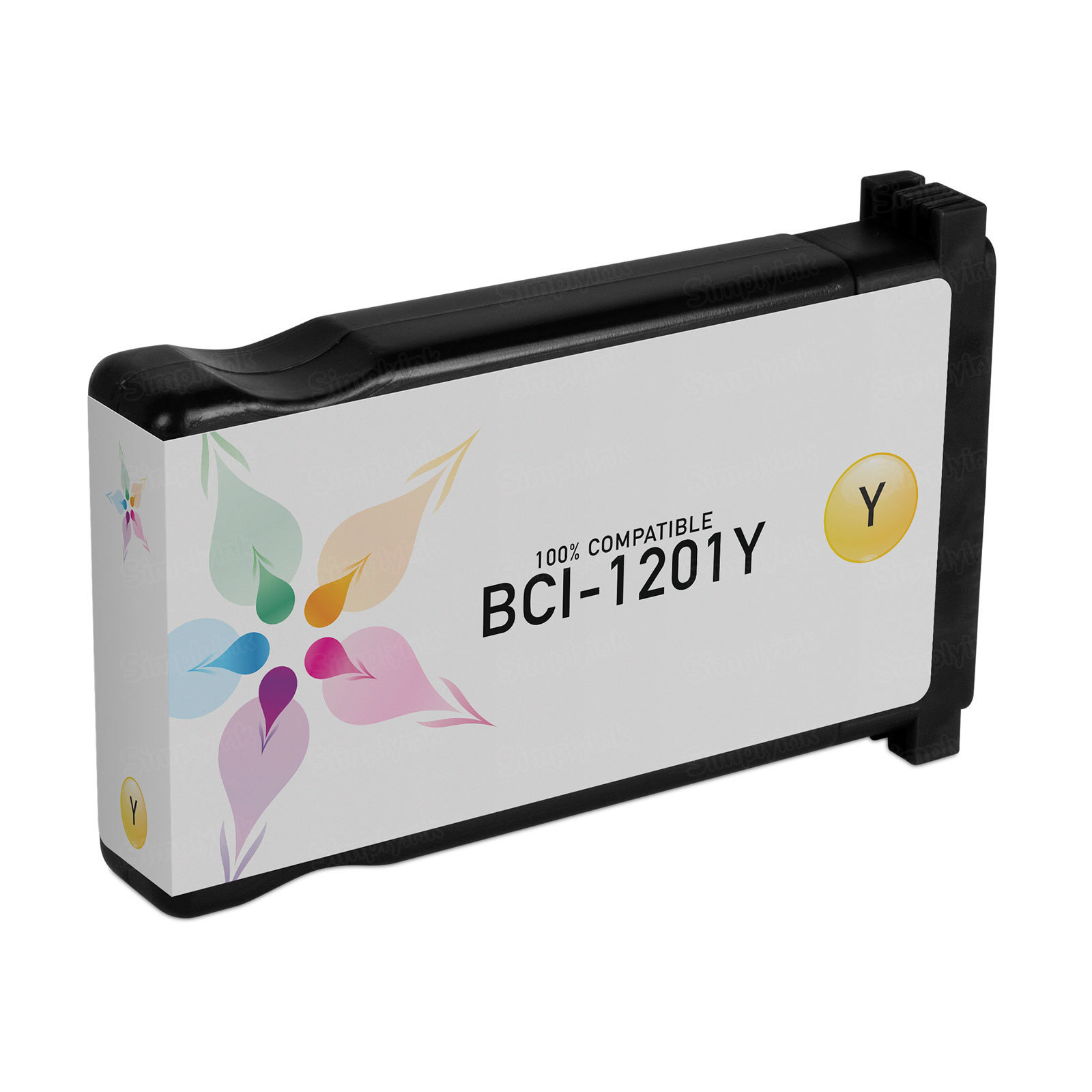 Canon Compatible BCI-1201Y Yellow Ink for N1000 & N2000