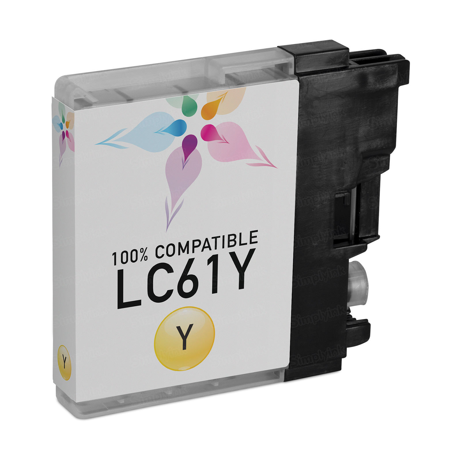 Brother Compatible LC61Y Yellow Ink