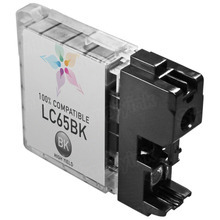 Compatible Brother LC65BK High Yield Black Ink Cartridges for the MFC-5890CN, MFC-6490CW, MFC-6890CDW