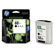 Original HP 88XL Black Ink Cartridge in Retail Packaging (C9385AN) High-Yield
