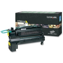 Lexmark OEM Extra High Yield Yellow Return Program Laser Toner Cartridge, C792X1YG (C782/X782 Series) (20K Page Yield)