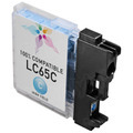 Brother Compatible LC65C High Yield Cyan Ink