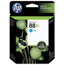 Original HP 88XL Cyan Ink Cartridge in Retail Packaging (C9391AN) High-Yield